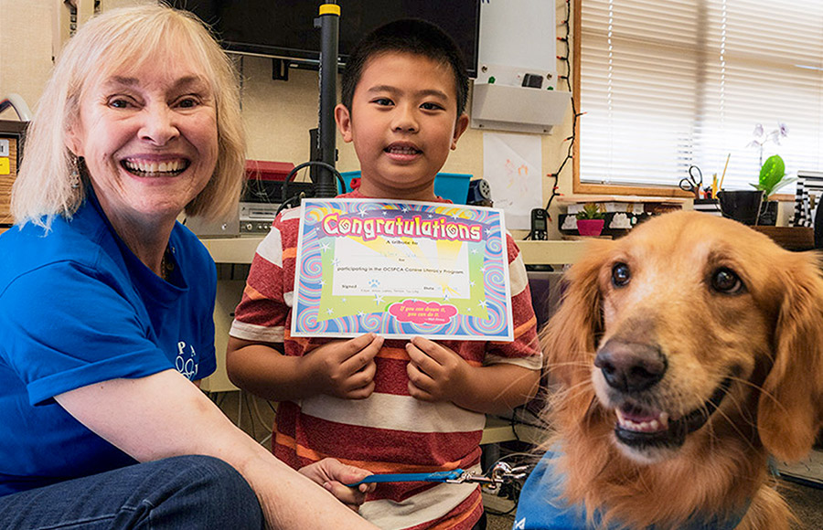 PAWS - Canine Literacy Program
